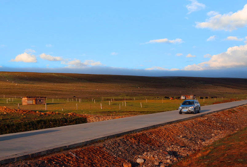 17 Days Yunnan-Tibet Overland Tour from Kunming to Lhasa Map