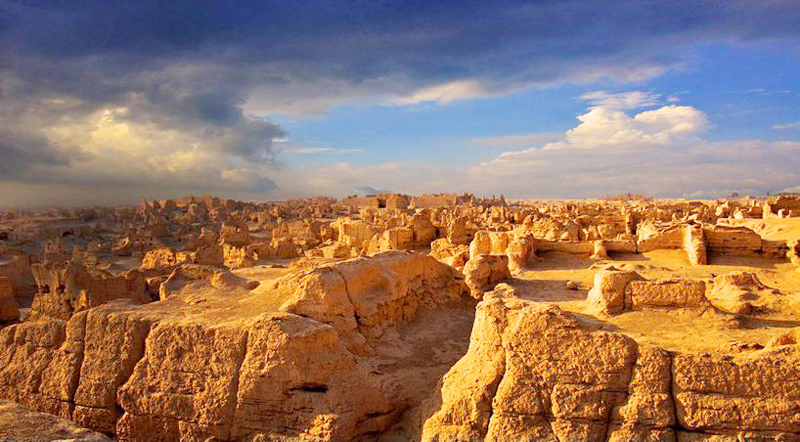 Jiaohe Ancient City in turpan